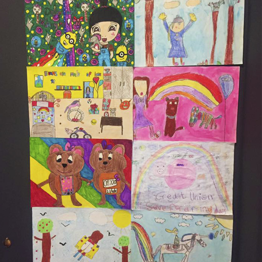 Walk Of Life Credit Union Art Competition Ideas