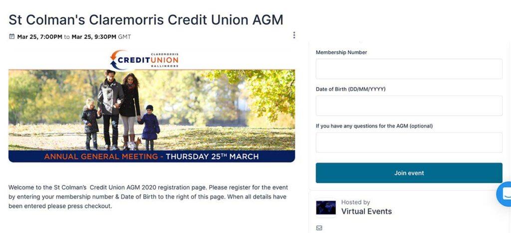 Virtual AGM 2021